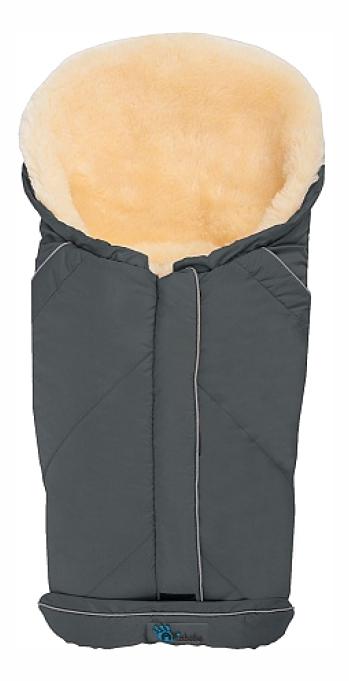 Купить Lambskin Car Seat, Конверт-мешок для детской коляски Altabebe MT2003LP Lambskin-Car Seat Bag Dark Grey,