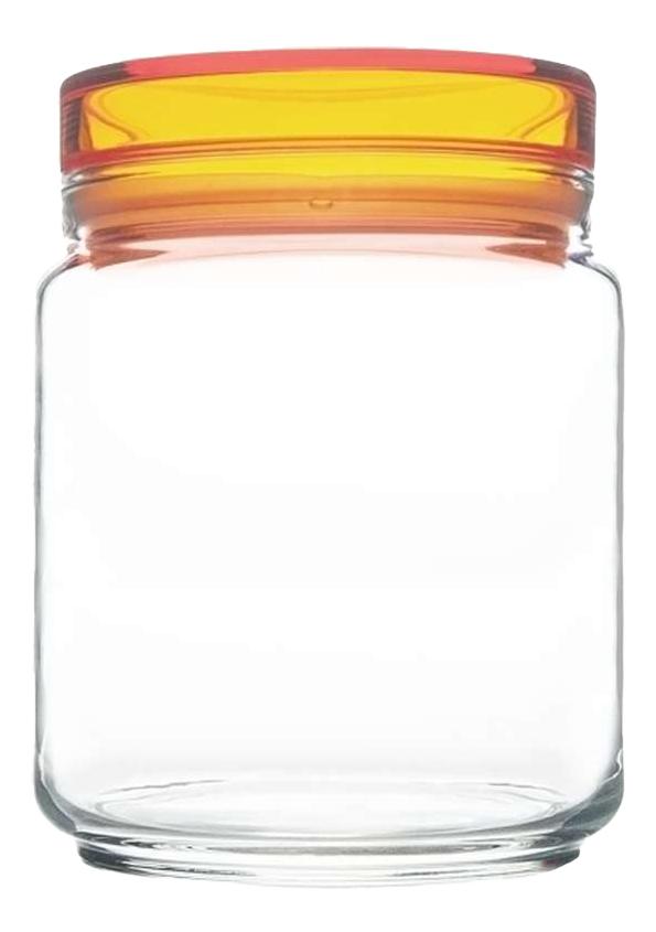 Банка для хранения Luminarc Colorlicious с оранжевой крышкой 0,75 л фото