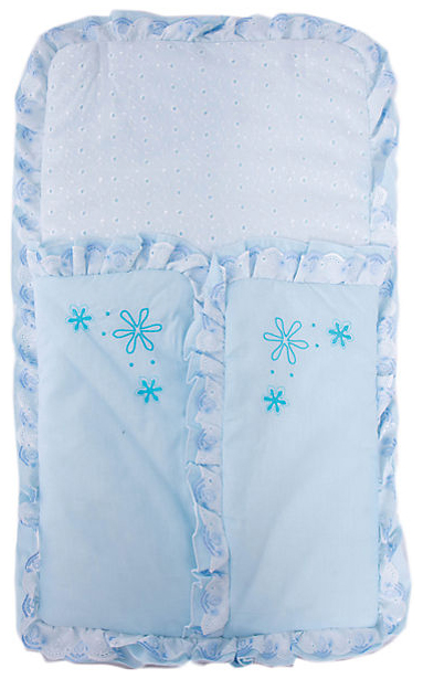 Конверт-мешок для детской коляски Fairy Белые кудряшки