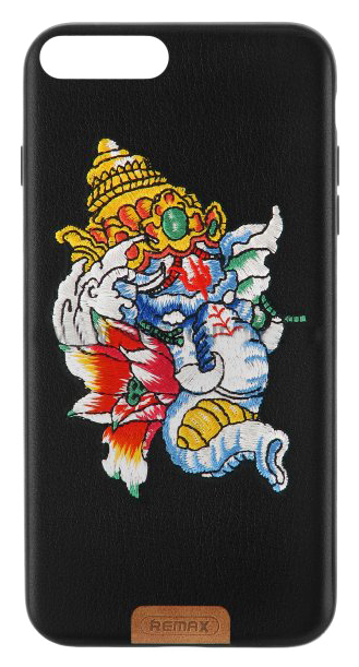 Чехол-накладка Remax Stitch Ganesha для Apple iPhone 7 Plus Black