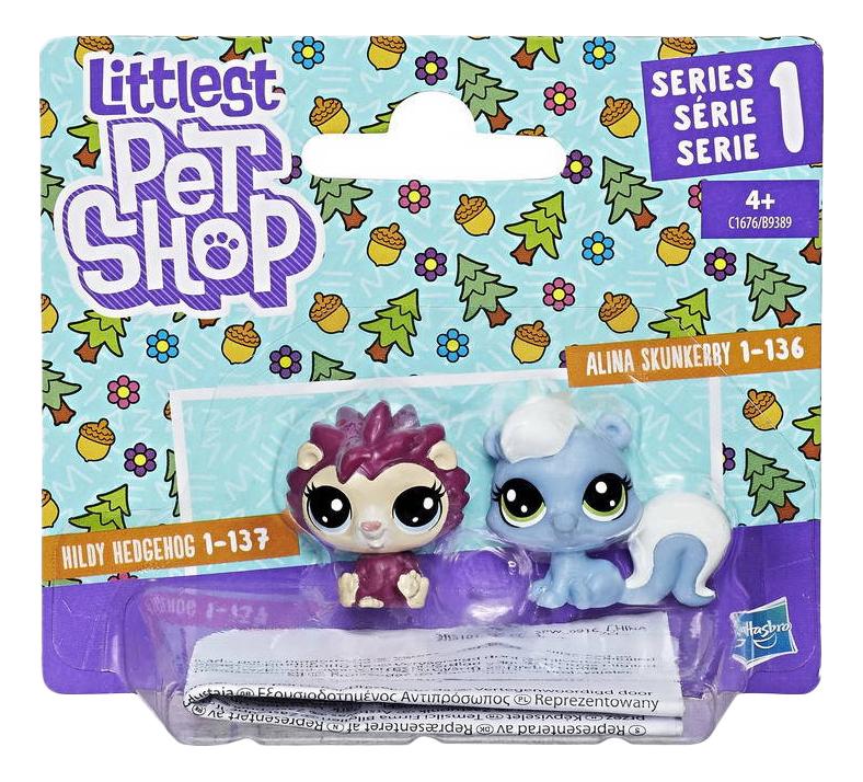 Игровой набор Littlest Pet Shop Littlest Pet Shop Два пета