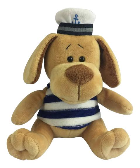 Купить Собака-морячок, Мягкая игрушка Teddy Собака морячок, 15 см, Мягкие игрушки животные
