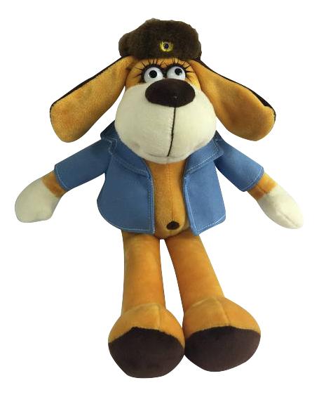 Мягкая игрушка Teddy Собака в голубом пиджаке, 15 см фото