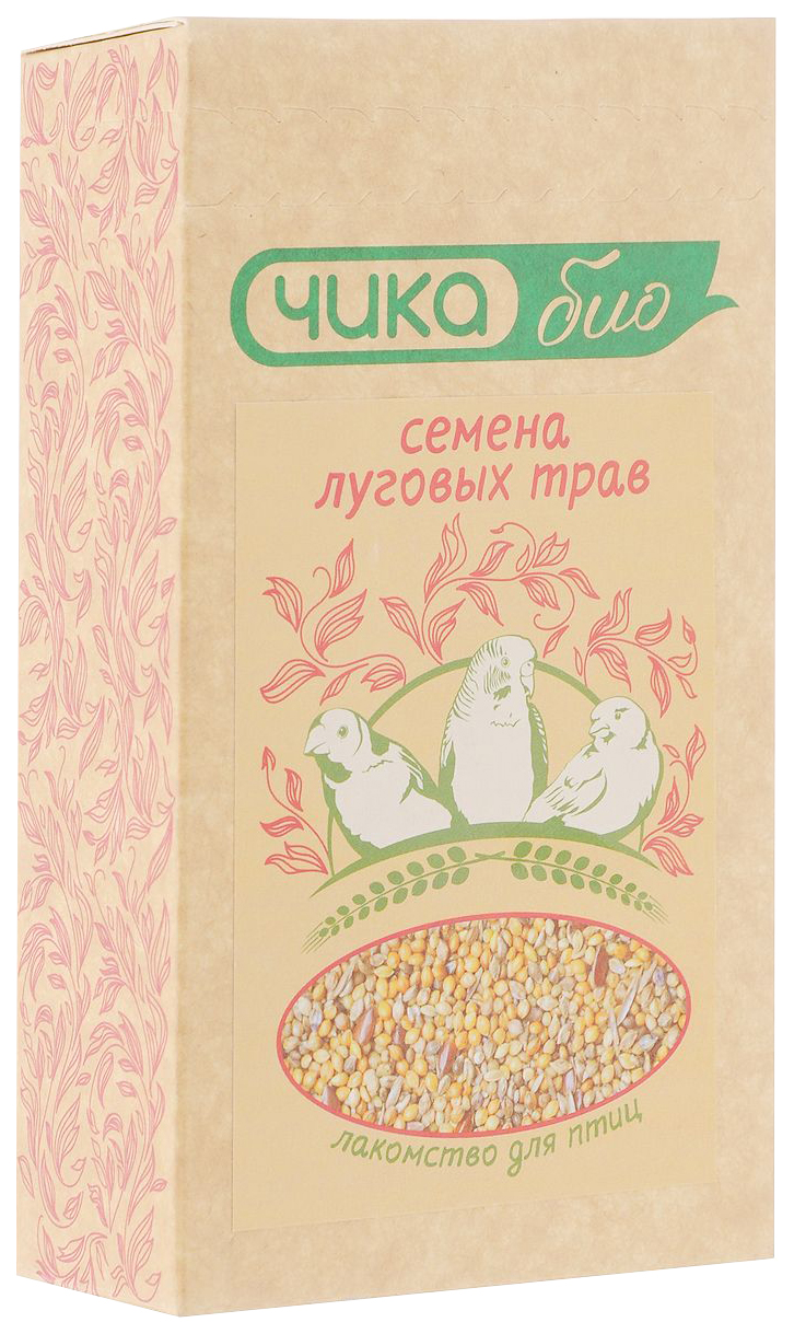 Лакомство для птиц Чика-био  злаковое ассорти 0.225кг.