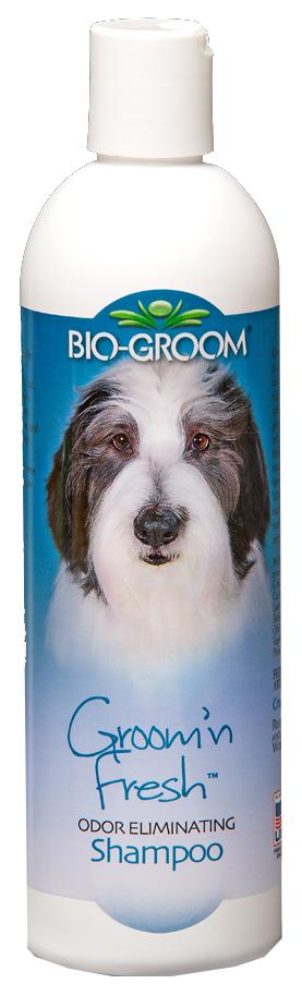 Шампунь для кошек и собак Bio-Groom Groom\'n Fresh универсальный, алоэ вера, 355 мл