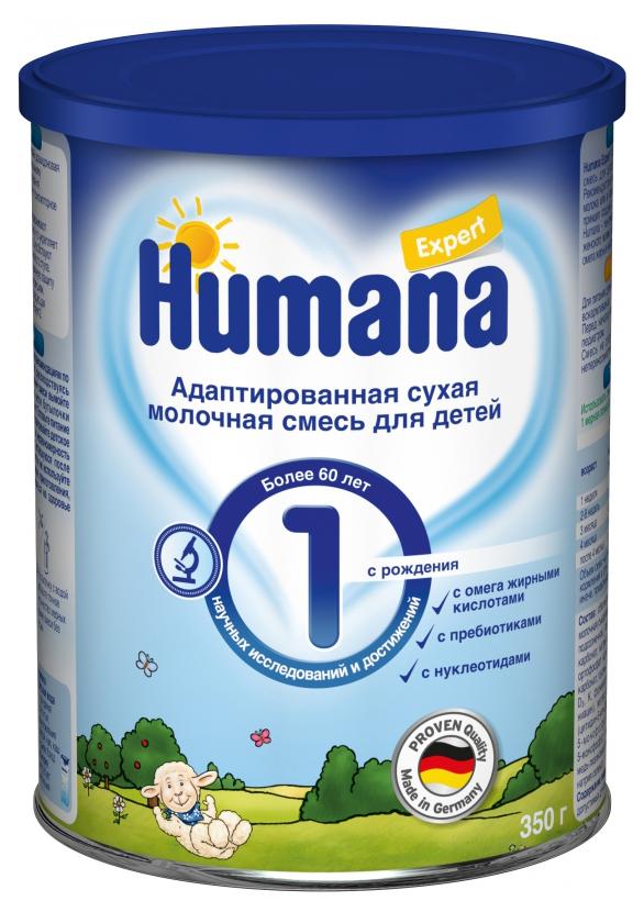 Купить Молочная смесь 1 (от 0 до 6 мес.) Humana Expert 350 г, Детские смеси 1 (с рождения)