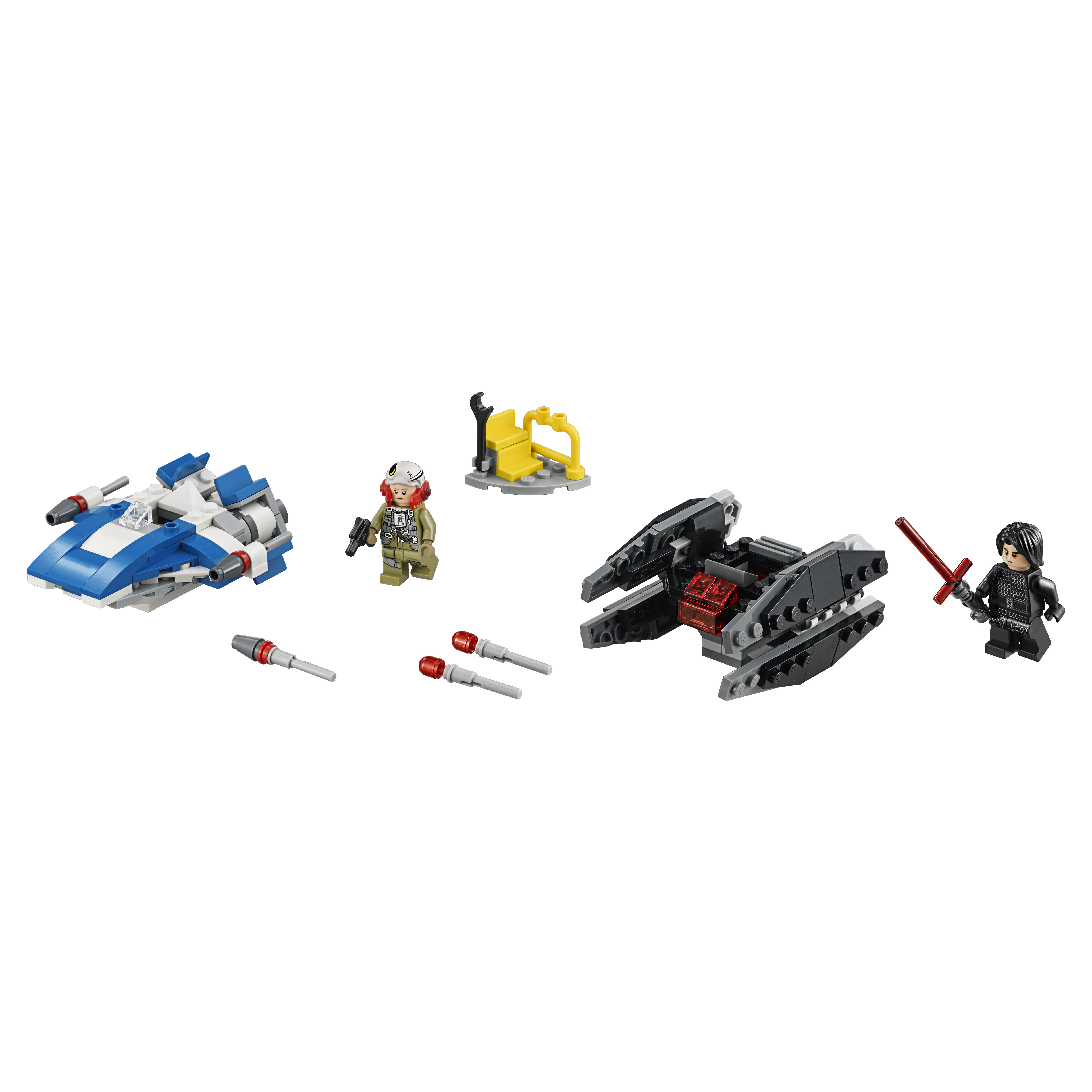 Купить Конструктор lego star wars истребитель типа a против бесшумного истребителя сид 75196, Конструктор LEGO Star Wars Истребитель типа A против бесшумного истребителя СИД (75196)