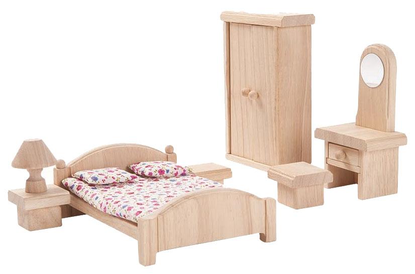 Мебель для кукол PlanToys Классик Спальня 9016