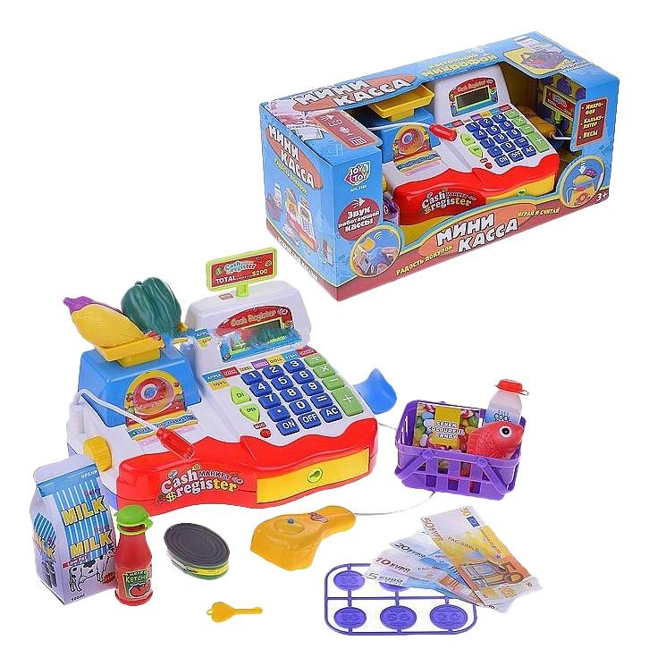 Купить Игровой набор Кассовый аппарат со звуком Play Smart Б79517, PLAYSMART, Игрушечные кассы