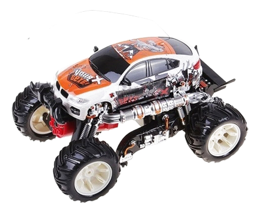 Радиоуправляемая машинка Безумные гонки Play Smart М43677