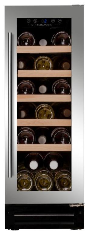 Встраиваемый винный шкаф Dunavox DX 19.58SSK/DP