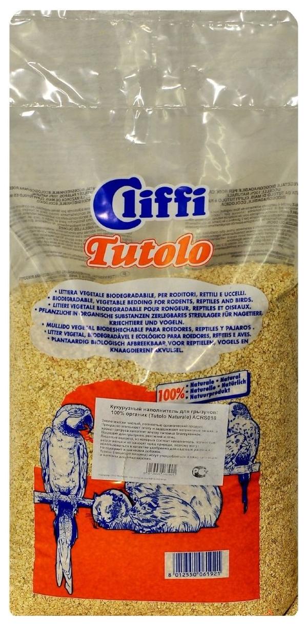 Наполнитель для грызунов Cliffi Tutolo Кукурузный