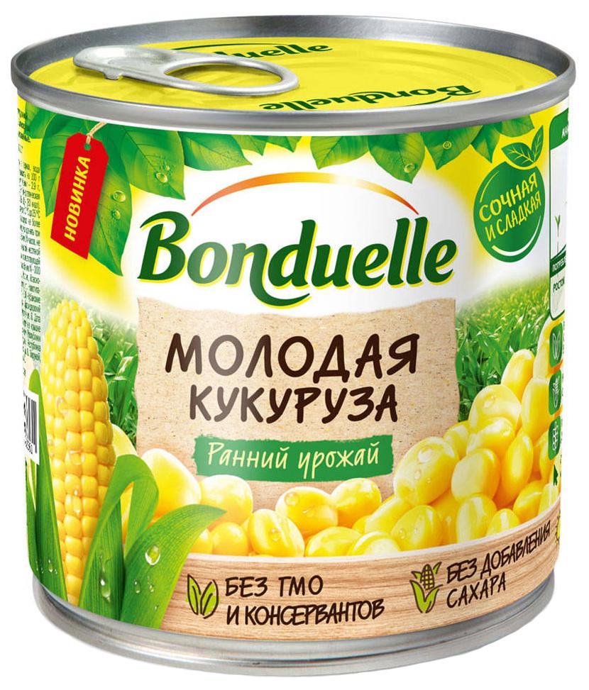 Кукуруза Bonduelle молодая сладкая 425 мл