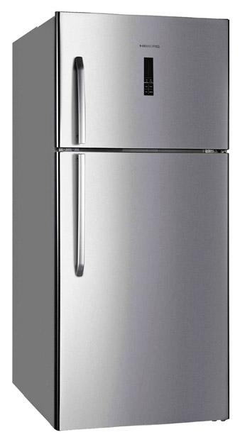 Холодильник Hiberg RFT 65D NFX Silver