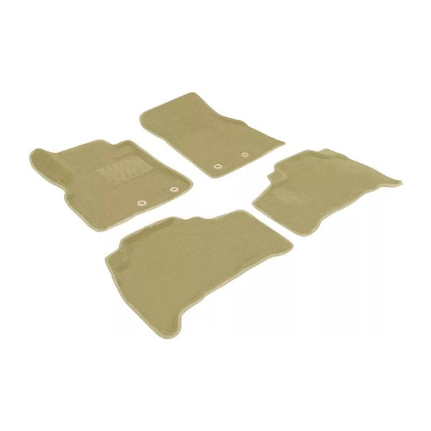 Ворсовые коврики SEINTEX 3D для Toyota Land Cruiser 200 2012- / 85481