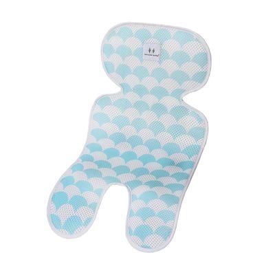 Матрасик дышащий в коляску Happy Mom Голубой