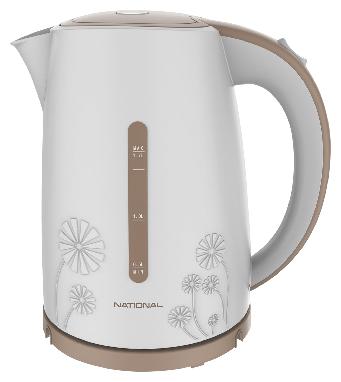 Чайник электрический National NK KE17107 White/Beige