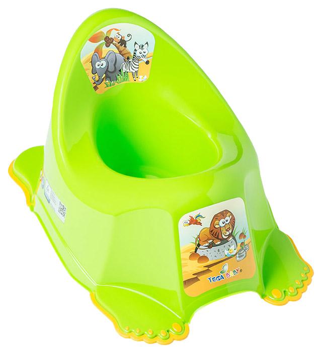 Горшок Tega Baby Сафари Немузыкальный Зеленый
