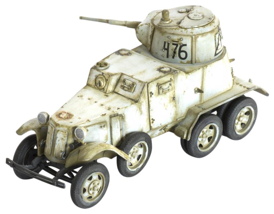 Купить Сборная модель Советский бронеавтомобиль БА-10 Звезда, ZVEZDA, Модели для сборки