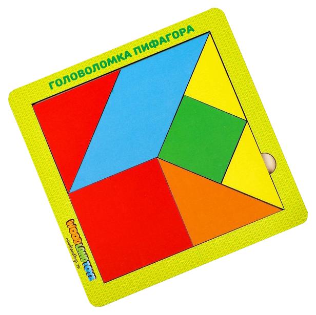Купить Головоломка 2.0 «Головоломка 2.0 Пифагора», 083212 Woodland (Сибирский сувенир), Игрушки головоломки