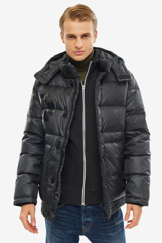 Пуховик мужской Pepe Jeans PM402114.999 черный 2XL