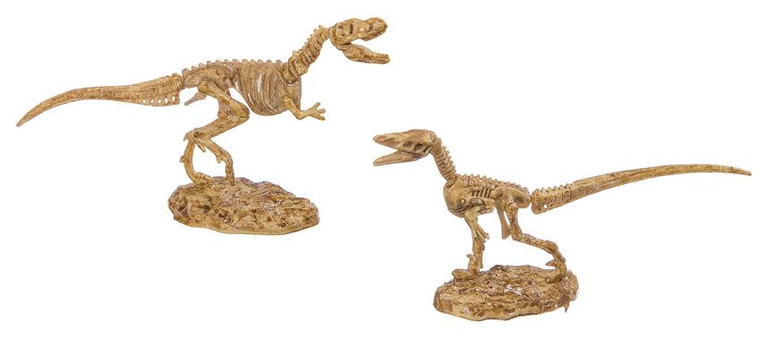 Французские опыты Науки с буки Bondibon Динозавры 2 в 1 ВВ2648