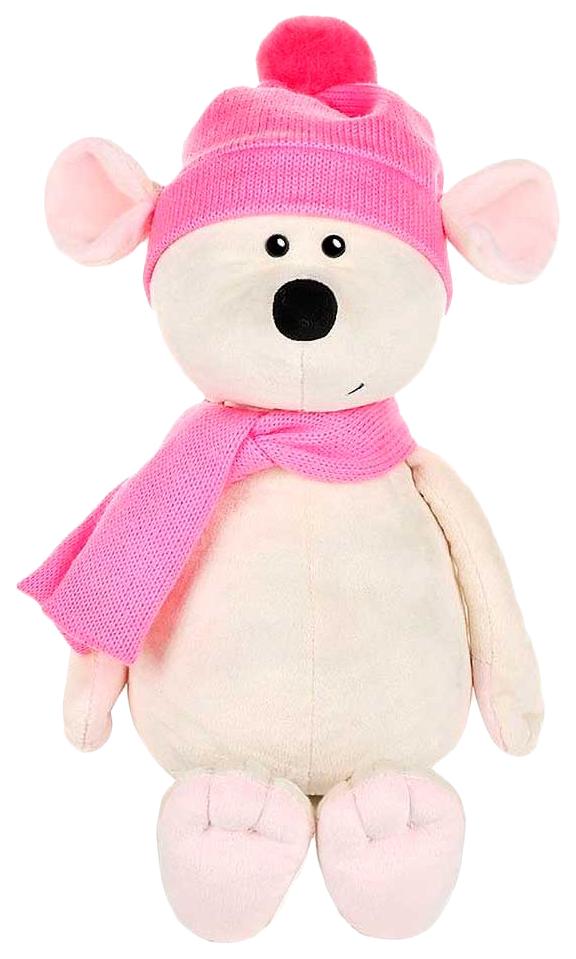 Купить Мягкая игрушка Мышка Мила в шапке и шарфе , 21 см, Maxitoys, Игрушки с символом года