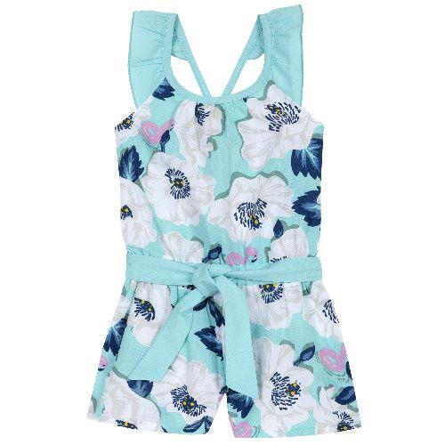 Купить 9045435, Полукомбинезон Chicco р.104 цвет голубой, Повседневные полукомбинезоны для девочек