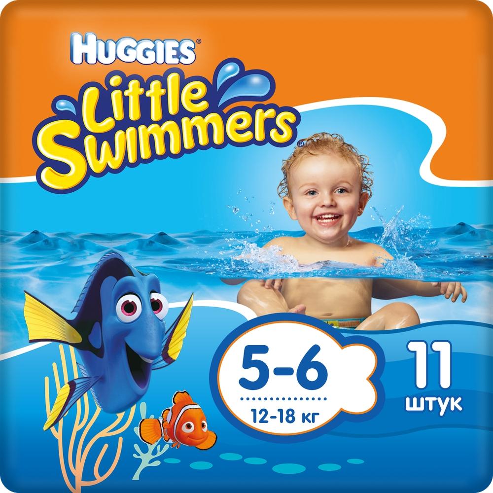 Подгузники Huggies Huggies Little Swimmers (12