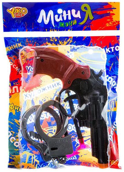 Купить Набор пласт.полицейского, МиниМаниЯ, РАС 15х23см, арт.M6084., Yako Toys,