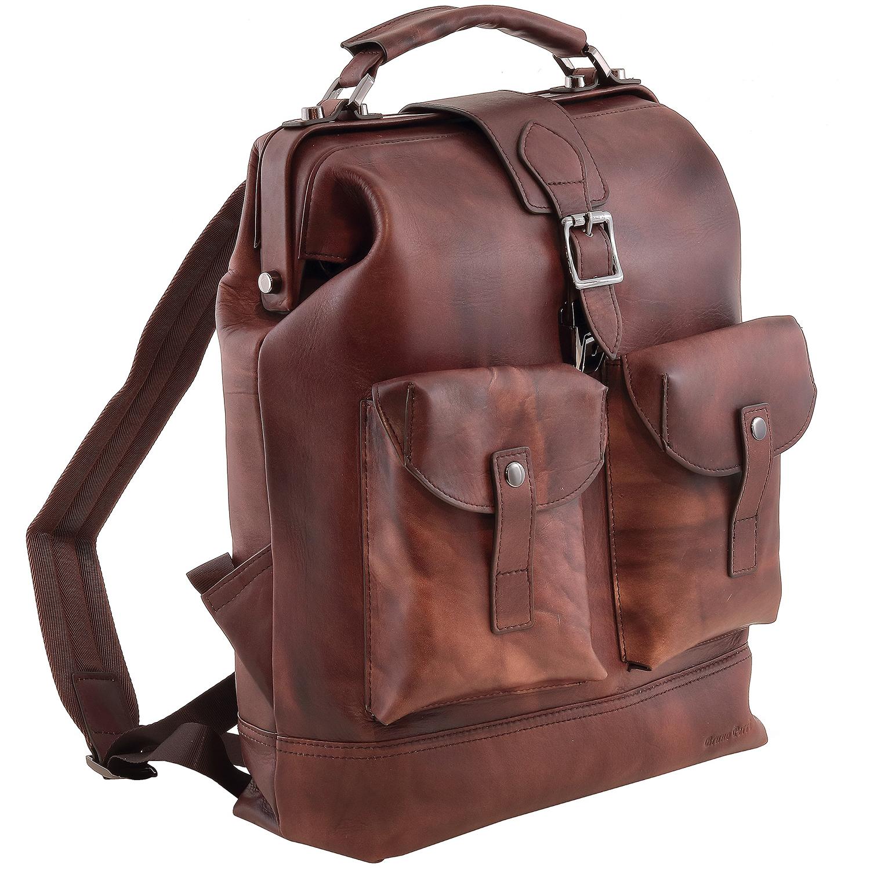 Рюкзак мужской Bruno Perri 9311-37 коричневый