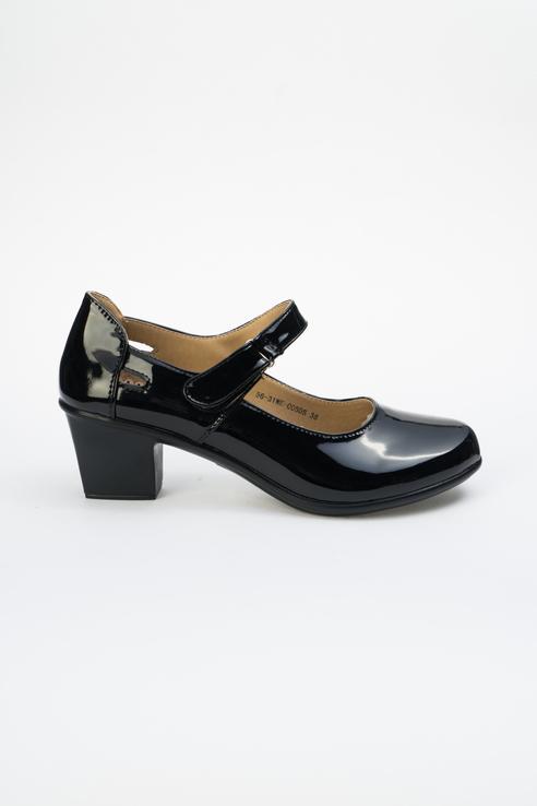Туфли женские INSTREET 56-31WE-005DS черные 40 RU фото