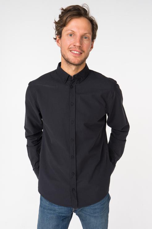 Рубашка мужская Blend 20706465 черная S
