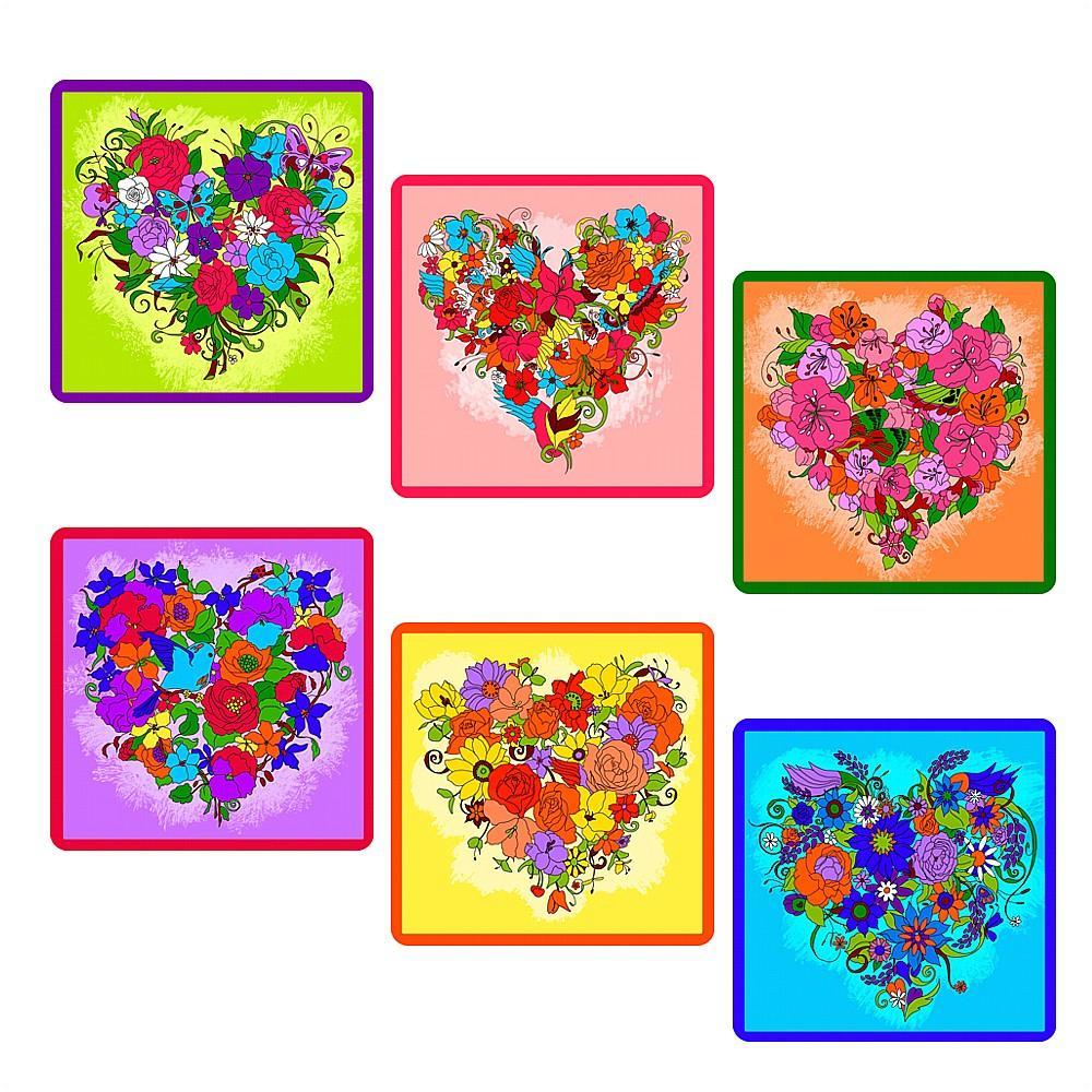 """Прихватка """"Цветочное сердце"""""""