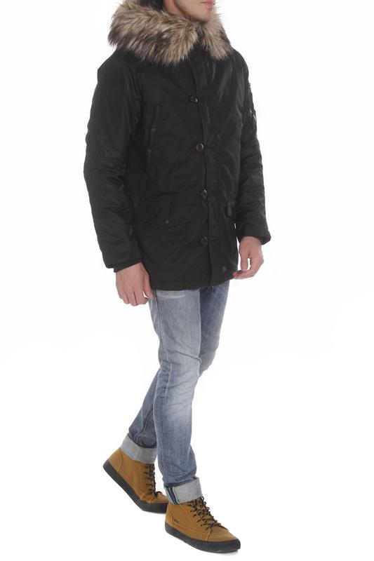 Куртка мужская MHI BY MAHARISHI 6001. черная M