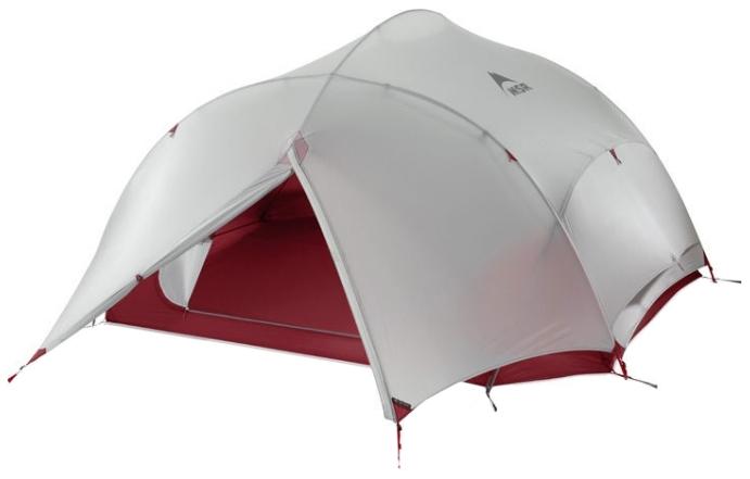 Палатка MSR Papa Hubba NX четырехместная серая