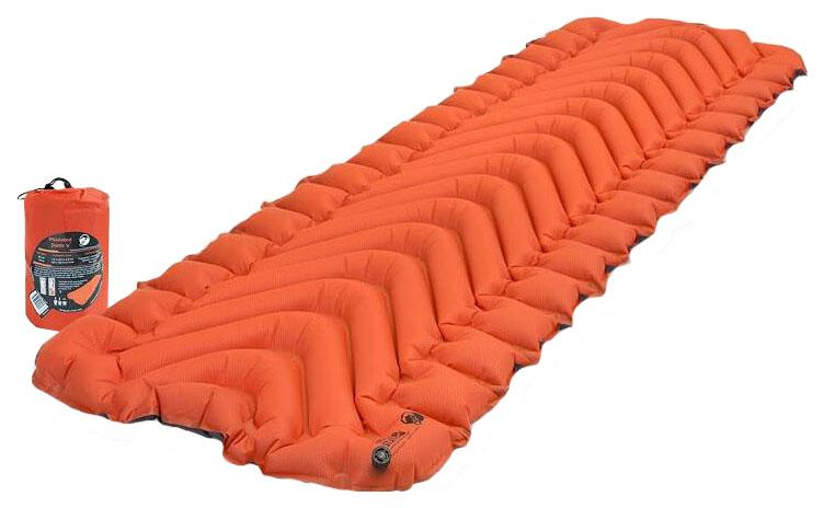 Коврик туристический надувной Klymit Insulated Static V Orange