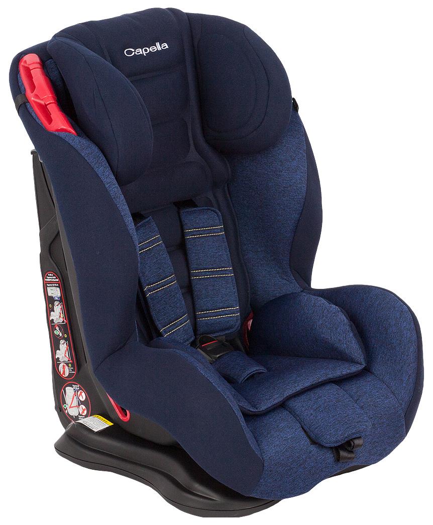 Детское Автокресло Capella S12310 9-36 кг, группа 1/2/3, Blue/Синий меланж
