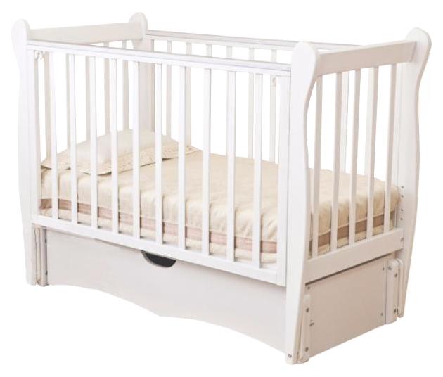 Кровать детская Красная Звезда Сибирочка С 777 Белый