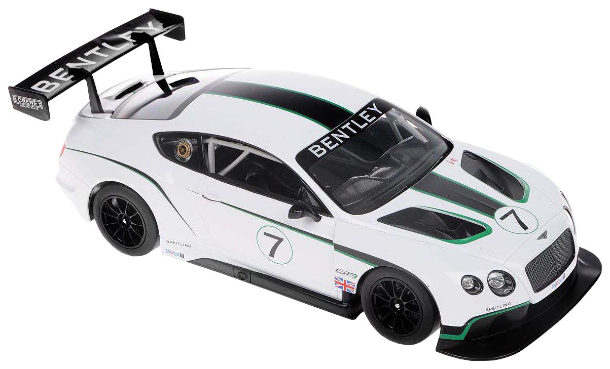 Радиоуправляемая машинка Rastar Bentley Continental GT3 1:14 белая 70600W