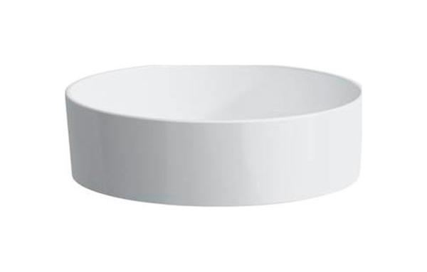 Накладная раковина LAUFEN Kartell 8.1233.1.000.112.1 белый