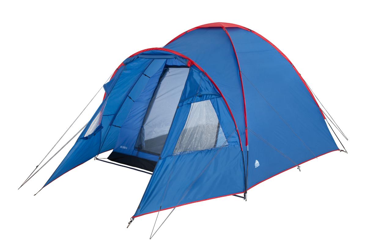 Палатка Trek Planet Bolzano четырехместная синяя