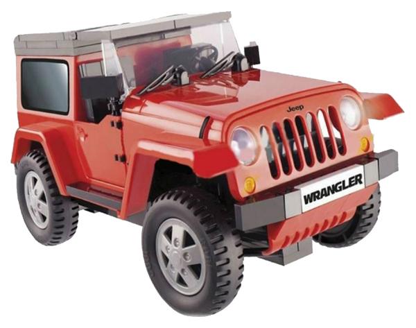 Конструктор пластиковый COBI Машина Jeep Wrangler красный