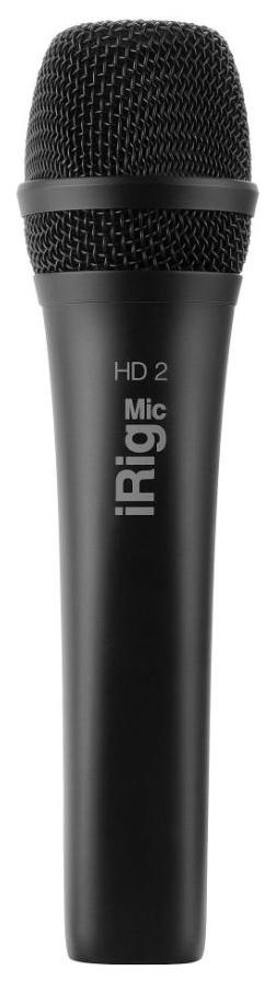 Конденсаторный микрофон IK Multimedia iRig Mic HD 2 (Black)