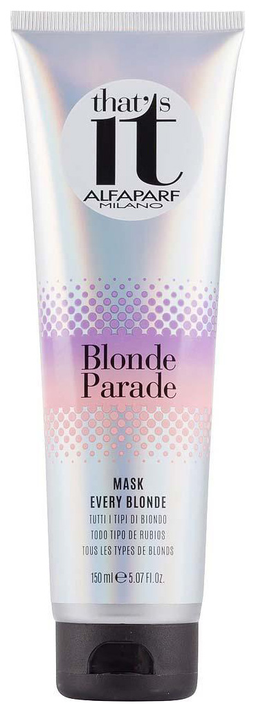 Маска для волос Alfaparf That\'s It Blonde Parade Mask 150 мл