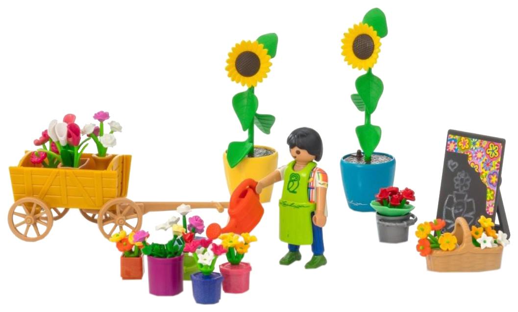 Купить Игровой набор Playmobil Шопинг: Флористический магазин, Игровые наборы