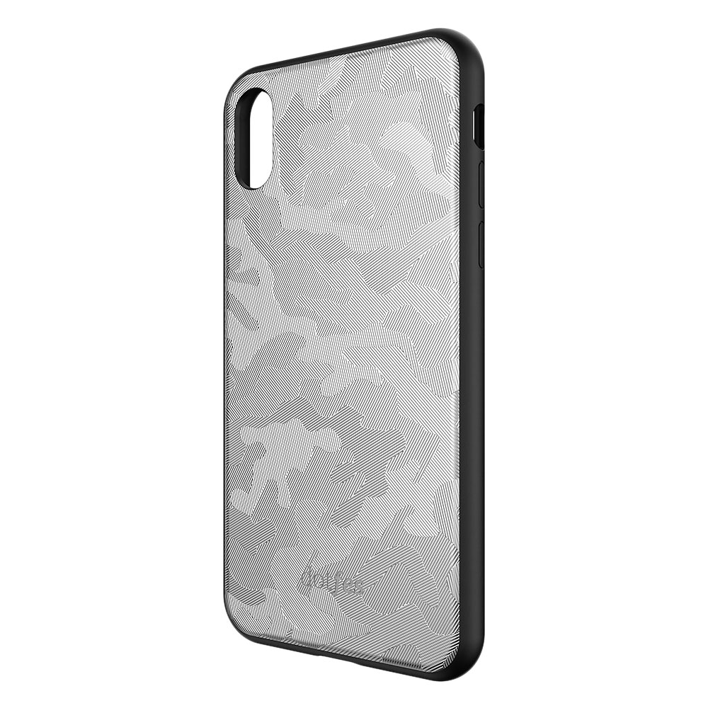 Чехол Dotfes G07 Camouflage Style Case для iPhone XS Max (silver)