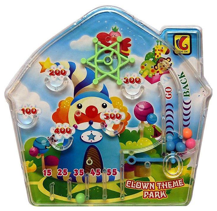 Пинбол настольный Клоун