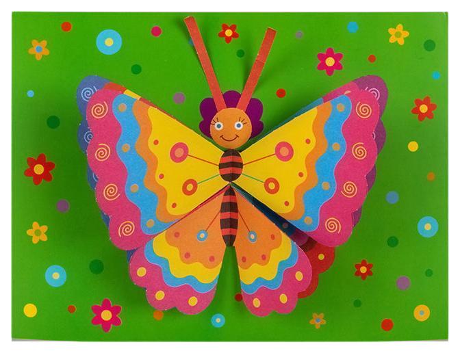 Купить Аппликация Дрофа-Медиа Бабочка 3+, Детские аппликации