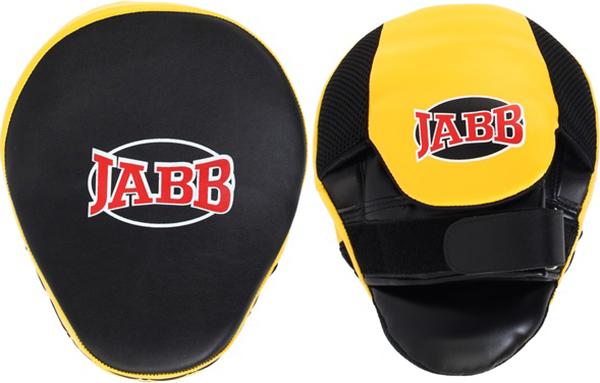 Боксерские лапы Jabb JE 2194 черно желтые